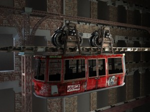 Tramway - 3ds Max & V-ray